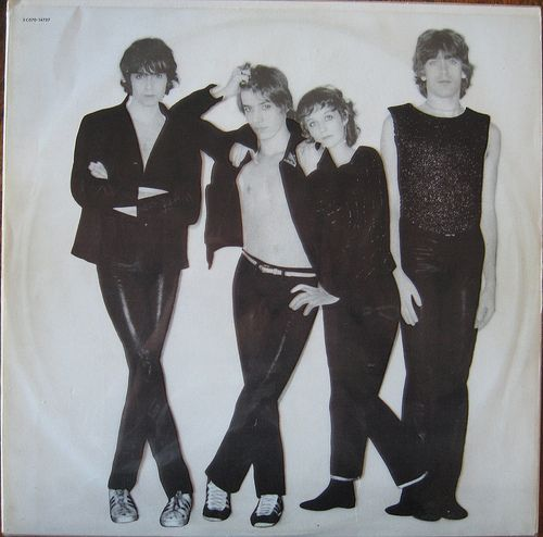 Telephone album. There are versions with the logo, but what you want is this first press with the slide-out cover, which reveals the band underneath, starkers.