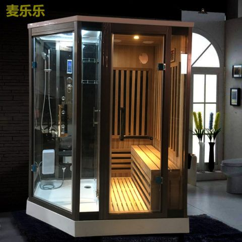 Infrared Sauna And Steam Shower Combo