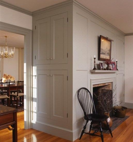 Fireplace Newburyport  A peek into an old Federal style home in Newburyport. This fireplace wall is stunning! by Frank Shirley ArchitectsCambridge, MA, US 02139  55 photosadded ...