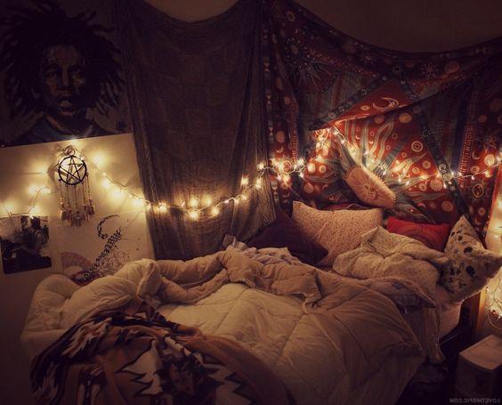 design bedroom ideas tapestries bedrooms fairy lights indie indie room