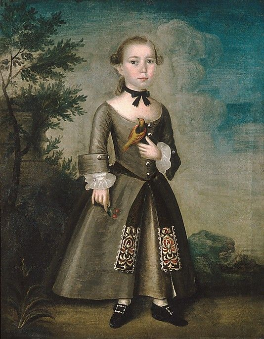 James Badger  Joseph Badger (1708–1765)  Date: 1760 ~ little boy in a dress, so sweet :)