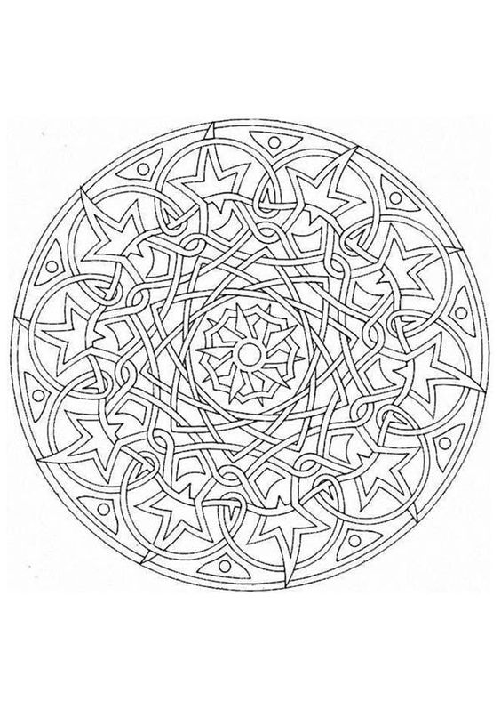 Detailed Coloring Pages For Adults coloring pages in