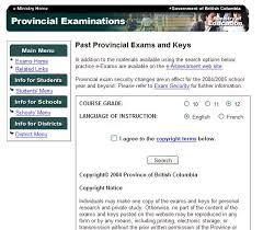 Socials 11 Provincial Exam Essay at …