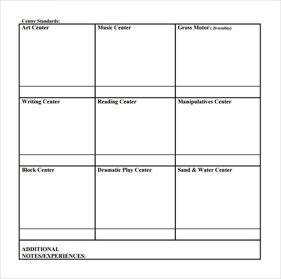 sample toddler lesson plan template efficiencyexperts - sample music lesson plan template