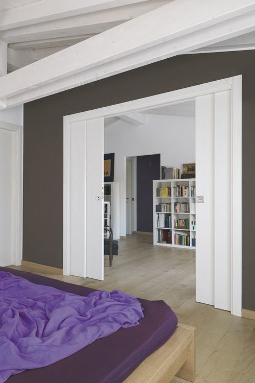 Porte Coulissante A Galandage Lapeyre En Applique Avec Images Porte Coulissante Galandage Porte Coulissante Porte Galandage