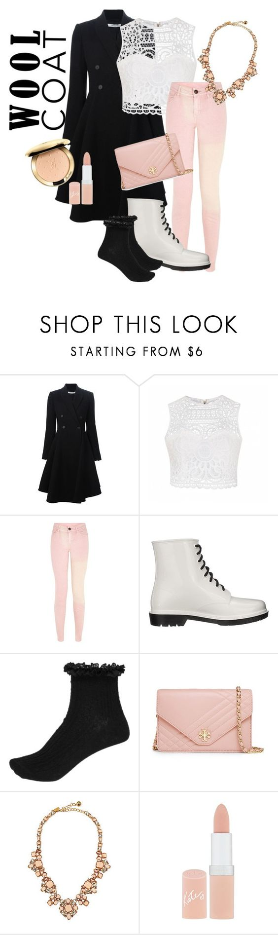 """Style With Wool Coat"" by lillian-cx ❤ liked on Polyvore featuring Givenchy, Ally Fashion, Circus By Sam Edelman, River Island, Tory Burch, Kate Spade and Rimmel"