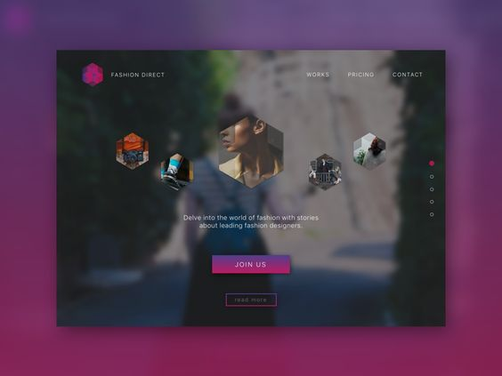 Landing Page by Randy Lin