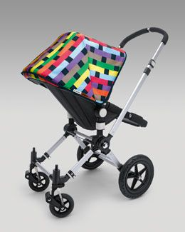Missoni for Bugaboo fabric set - love, love, love! My baby loves it too - he loves looking at the partern and different colors. Much more interesting than rhe regular monotone Bugaboo fabric. Exclusive to Neiman Marcus and it looks like they are getting more in stock. Sells on eBay for 2x regular retail.