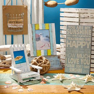 Check out this event on zulily! The Beachcomber's Home - If you find the siren call of the ocean irresistible or simply love combing the beach for sea glass, this collection is for you. Give your home a coastal-inspired vibe with our selection of nautical décor and even a few functional kitchen finds. Breathe deeply—you can almost smell the salty air!