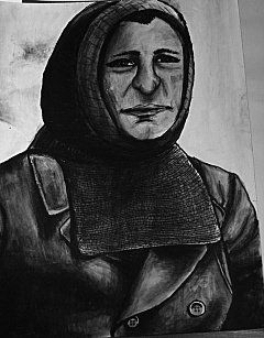 Man of the Arctic. Ink.Katie Siepierski