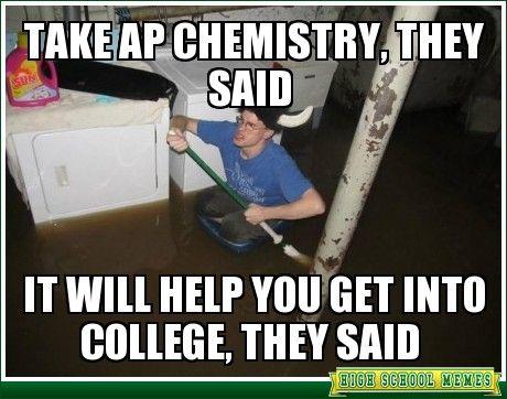 Is it worth taking Chemistry in highschool?