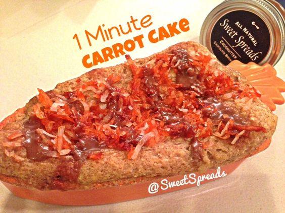 1 Minute Carrot Cake