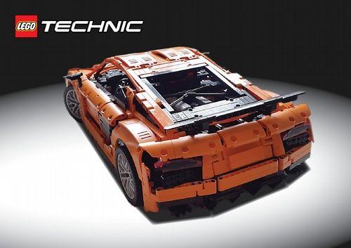 Lego Technic Audi R8 V10 2017 A Lego Creation By Kasper