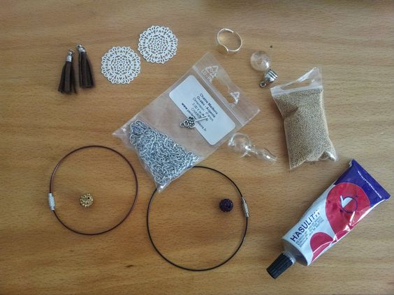 La vie d'une petite caille...: DIY bijoux pour l'été Boucle d'Oreilles