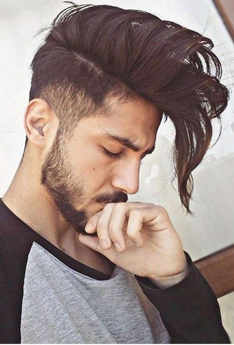 Fascinating Styles To Compliment The Faded Undercut Hairstyle Long Hair Fade Hair And Beard Styles Long Hair Styles
