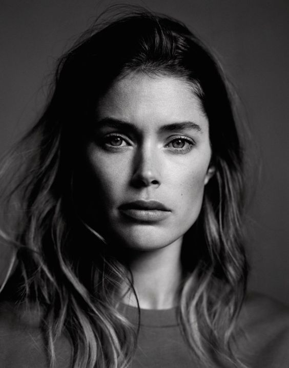 Model: Doutzen Kroes. Photographer: Ben Weller. Fashion Editor: Celestine Cooney. Hair: Mari Ohashi. Make-up: Niamh Quinn.