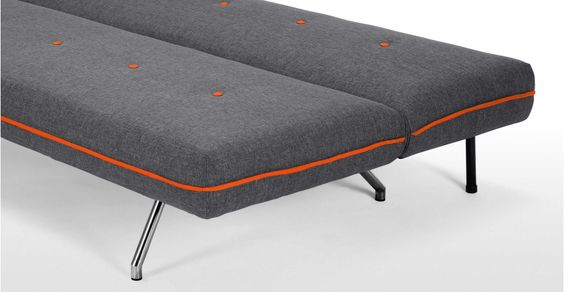Miki Sofa Bed in cygnet grey   made.com