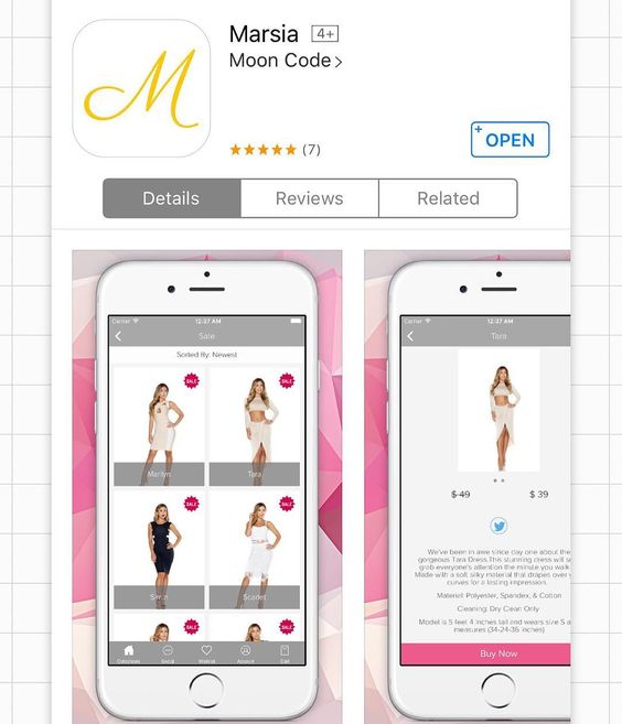 The M A R S I A app is now available for iPhone and iPad users beauties!!  Download NOW to view an EXCLUSIVE discount code which will be revealed today at 5:00pm PST!! The app allows you to EASILY navigate our store and peruse through the Marsia collection making it the best possible shopping experience ever!!!  #ootd #ootn #shopmarsia #newboutique #shopping #style #trending #streetstyle #glam #sexy #igfashion #fashion #fashionista #fashionblogger  #fashiondiaries  #fashionaddict…
