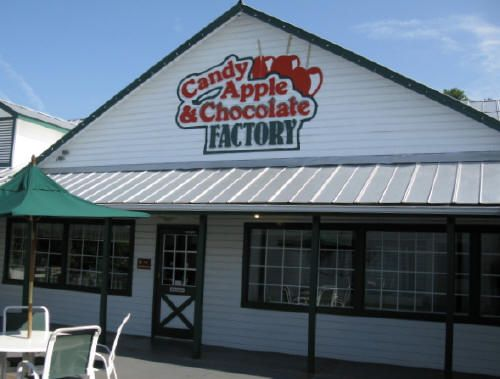 Apple Barn Village Chocolate Factory Candy Store...Looked ...