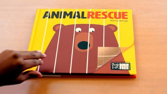 This is a book in which you become a rescue hero. Simply turn the transparent page and rescue the animals! It's fun, it's simple and it's a gentle introduction to the importance of animal welfare. This is a book without words which enables the reader to choose the appropriate level of input for the child. 50p of the sale of each book will go to the Born Free Foundation.