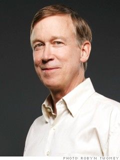 Colorado Governor, John Hickenlooper. Can't help it.  I like this man.