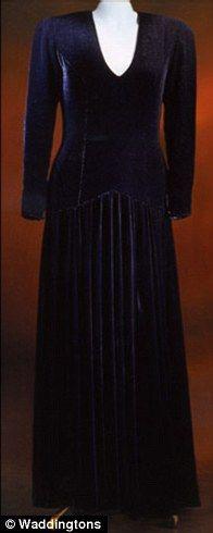 femail article princess dianas dresses auction maureen dunkel goes bankrupt