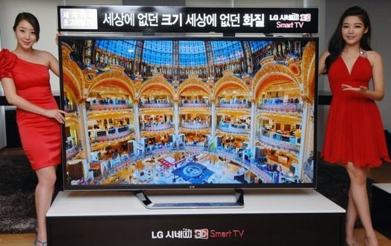 For my bathroom --  4K, 84inch 'ultra' #HDTV from #LG is ready to start shipping, if you're in Korea and can spare $22,000