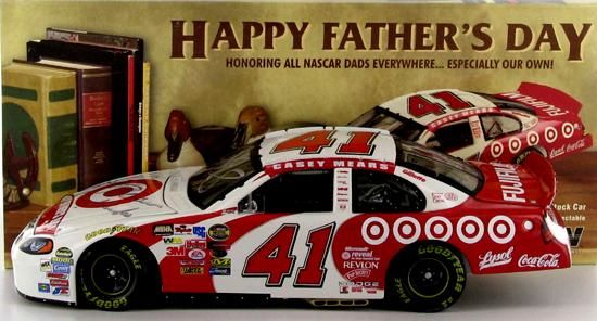 Casey Mears 41 Target Father S Day 2004 Intrepid Autographed By Two In 2021 Casey Mears Nascar Diecast Autograph