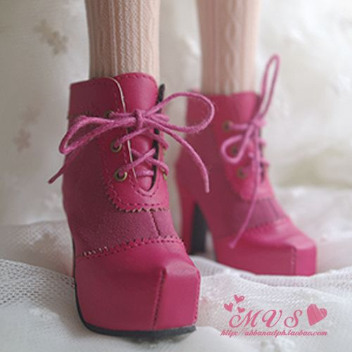 ♠ MVS ♠ 1 / 3BJD SD16 feet thick with high-heeled ankle boots SH-CH- Taobao
