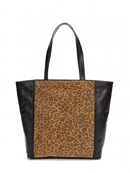 Leopard Shopper Tote by Elorie at Gilt