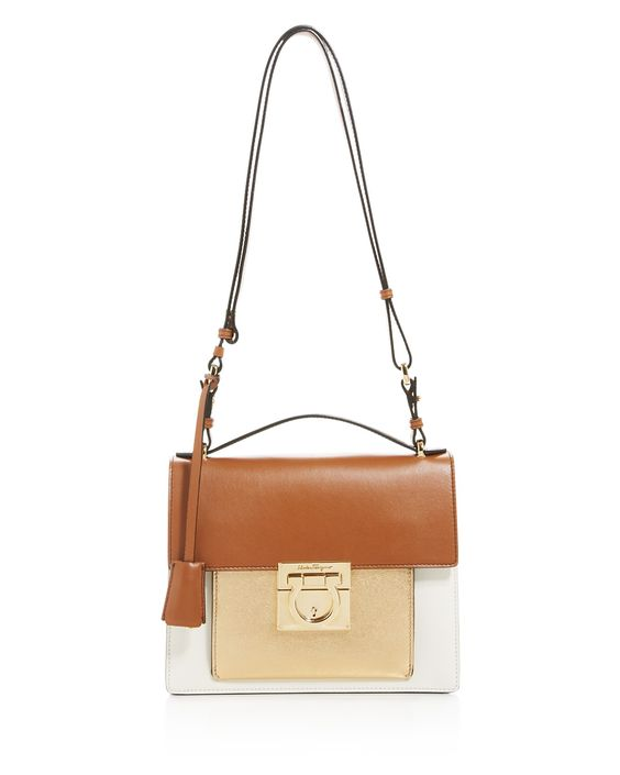 $Salvatore Ferragamo Marisol Small Shoulder Bag - Bloomingdale's