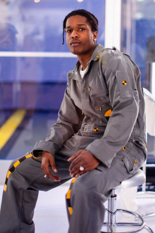 ASAP Rocky at his Lab Rat A YouTube Live-Stream Performance