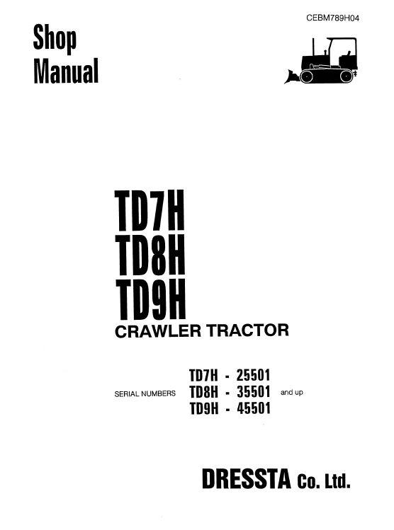 Dresser Dozer Serial Number Lookup ~ BestDressers 2020