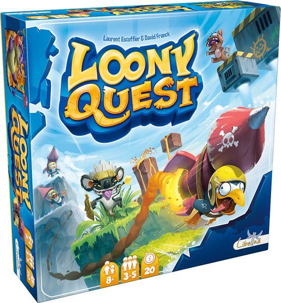 Loony Quest : un jeu qui demande de vraies capacités de repérage dans l'espace, de logique, de créativité et de réflexion.