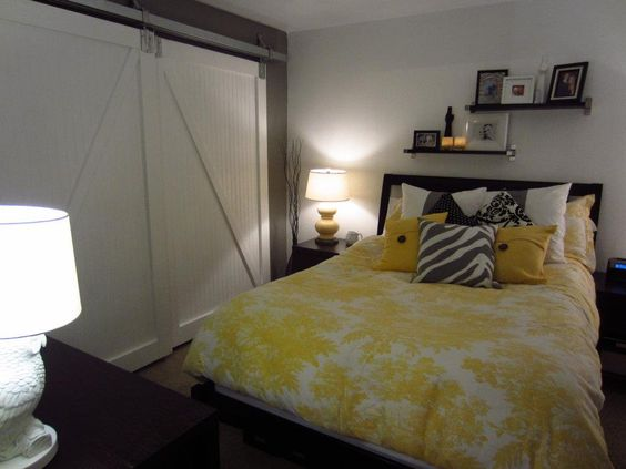 Thanks to Pinterest... I found barn doors I loved and created them for my bedroom!
