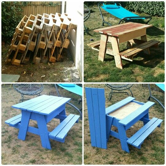 19 Best Picnic Tables Images On Pinterest | Picnic Table, Woodwork And Log  Table