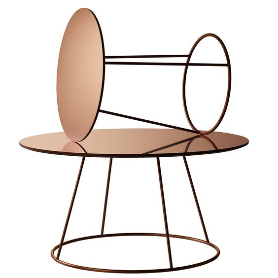 She creates original and beautiful furniture that captivates a whole world. Now Monica Förster's unforgettable table Breeze is available in copper – and it is even more beautiful. The large table Breeze is 41 cm high and the table top is 80 cm in diameter. The smaller version is higher at 50 cm with a diameter of 46 cm. The base is copper-plated steel and the table top is laminated with copper sheet. Swedese.