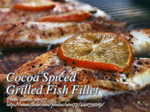 Cocoa Spiced Grilled Fish Fillet Panlasang Pinoy Meaty Recipes Recipe In 2020 Grilled Fish Recipes Fish Fillet Fish Fillet Recipe
