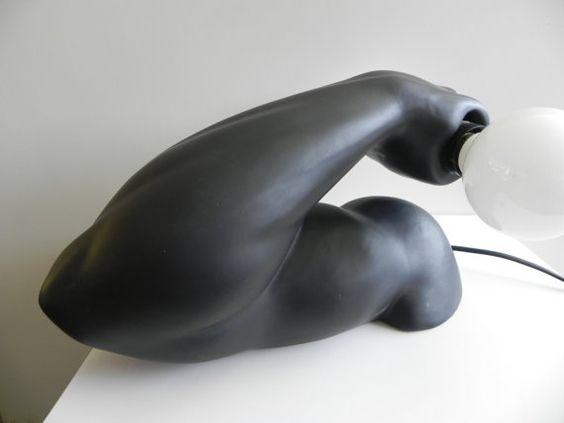 Avant Garde European Modern Arm Lamp by SansEpoch on Etsy, $275.00