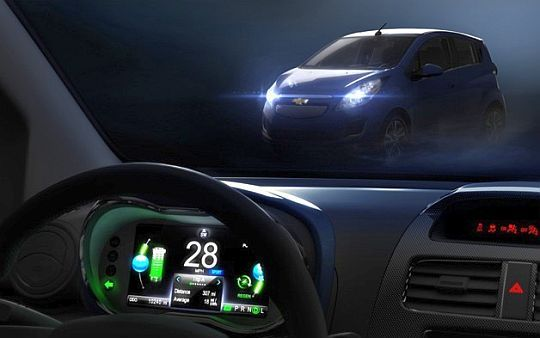 2013 Chevy BEAT EV heads to 2012 Los Angeles Motor Show
