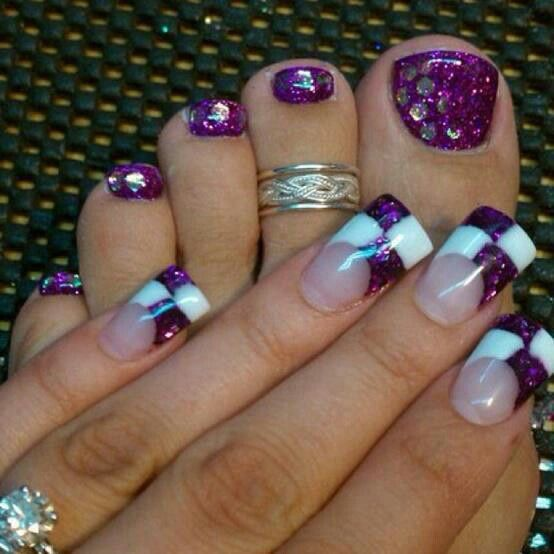 Race day nails