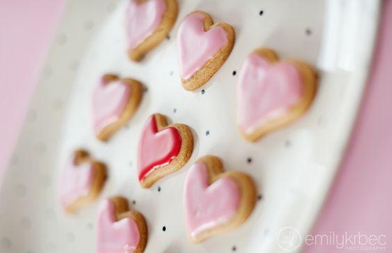 Valentines Day Honey Cookies