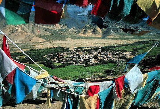 Samye Monastery.  Tibet, China.  Built in the 8th century, Samye Monastery was the first Buddhist monastery to be founded in Tibet. Samye…