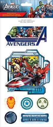 "Avengers Assemble - Window Decals 6"" x 14.25"""