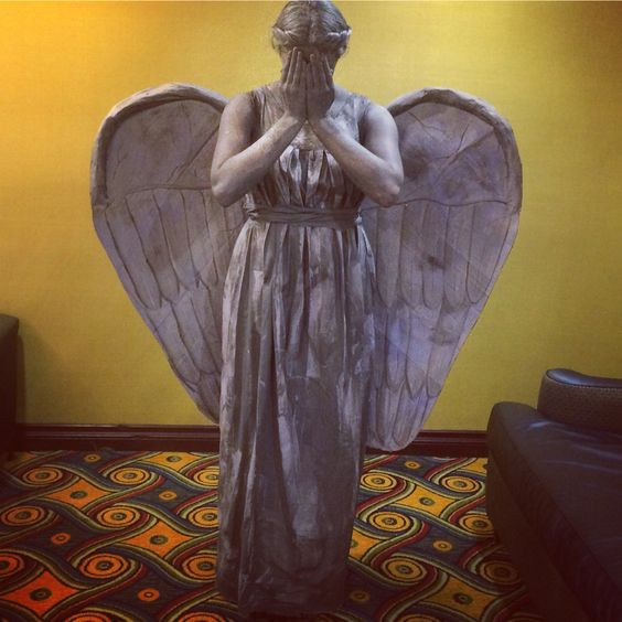 My Weeping Angel at Gallireyone