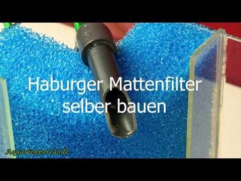 In Der Einfachsten Form Des Hamburger Mattenfilter Wird Ein