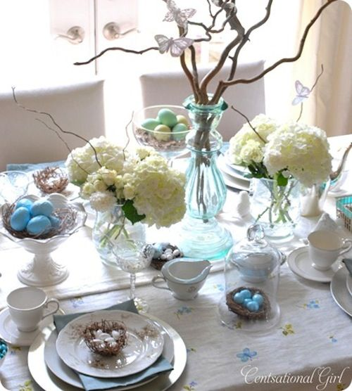 Spring / Easter table