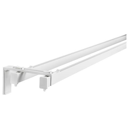 Vidga Triple Curtain Rail White Ikea Ikea Curtain Rails