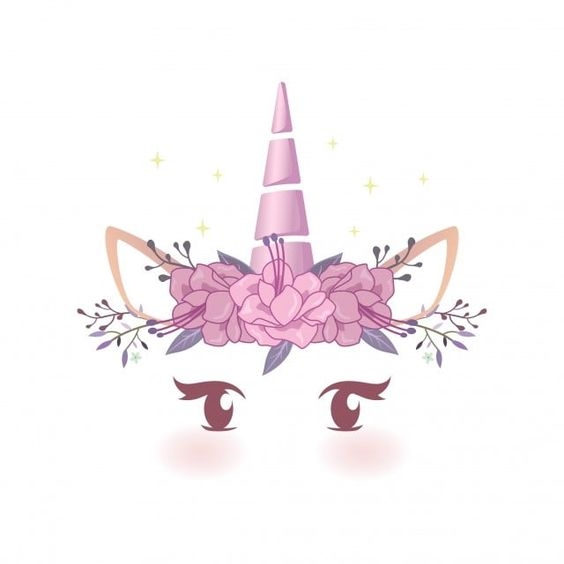 Adoravel Baby Cha De Bebe Linda Beleza Acreditar Aniversario Cartao Cartoon Celebracao O Personagem Cor C Unicorn Illustration Unicorn Face Unicorn Backgrounds