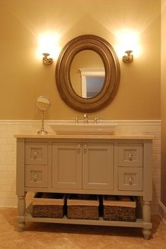 Grand Beach, Michigan - traditional - powder room - chicago - Kitchens & Baths Unlimited